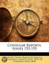 Consular Reports, Issues 192-195