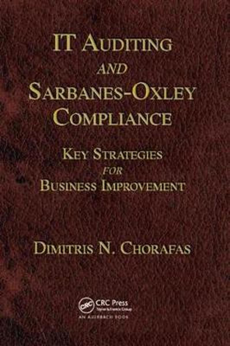 IT Auditing and Sarbanes-Oxley Compliance