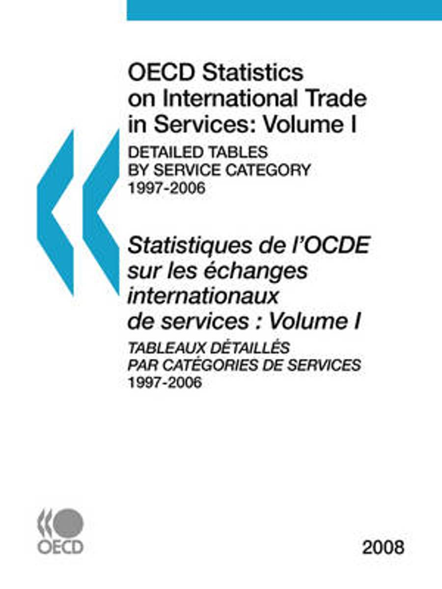 OECD Statistics on International Trade in Services 2008, Volume I, Detailed Tables by Service Category