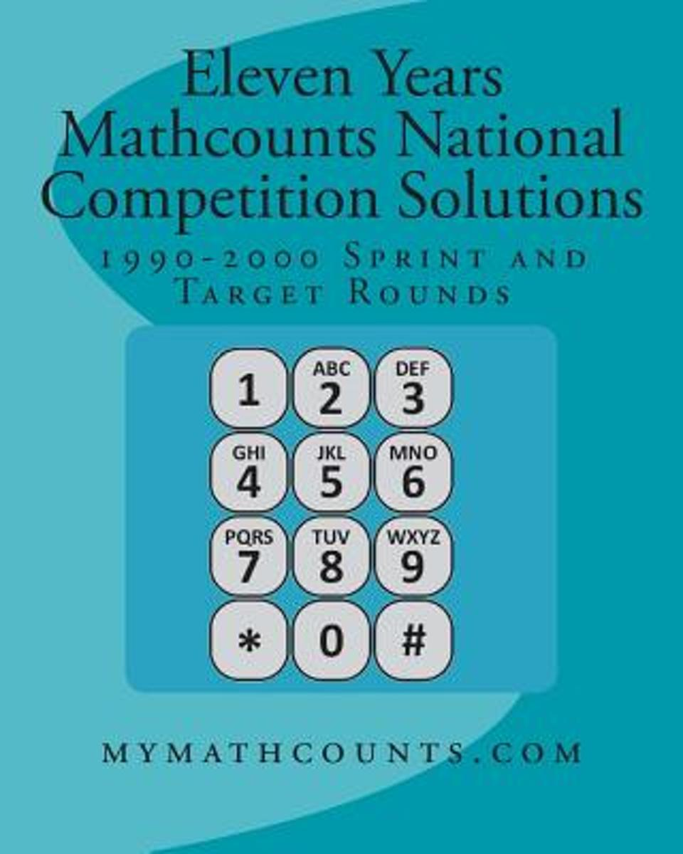 Eleven Years Mathcounts National Competition Solutions
