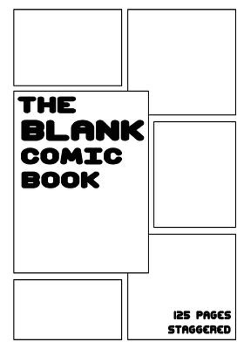 The Blank Comic Book - Staggered 6 Panels, 7 X 10, 125 Pages