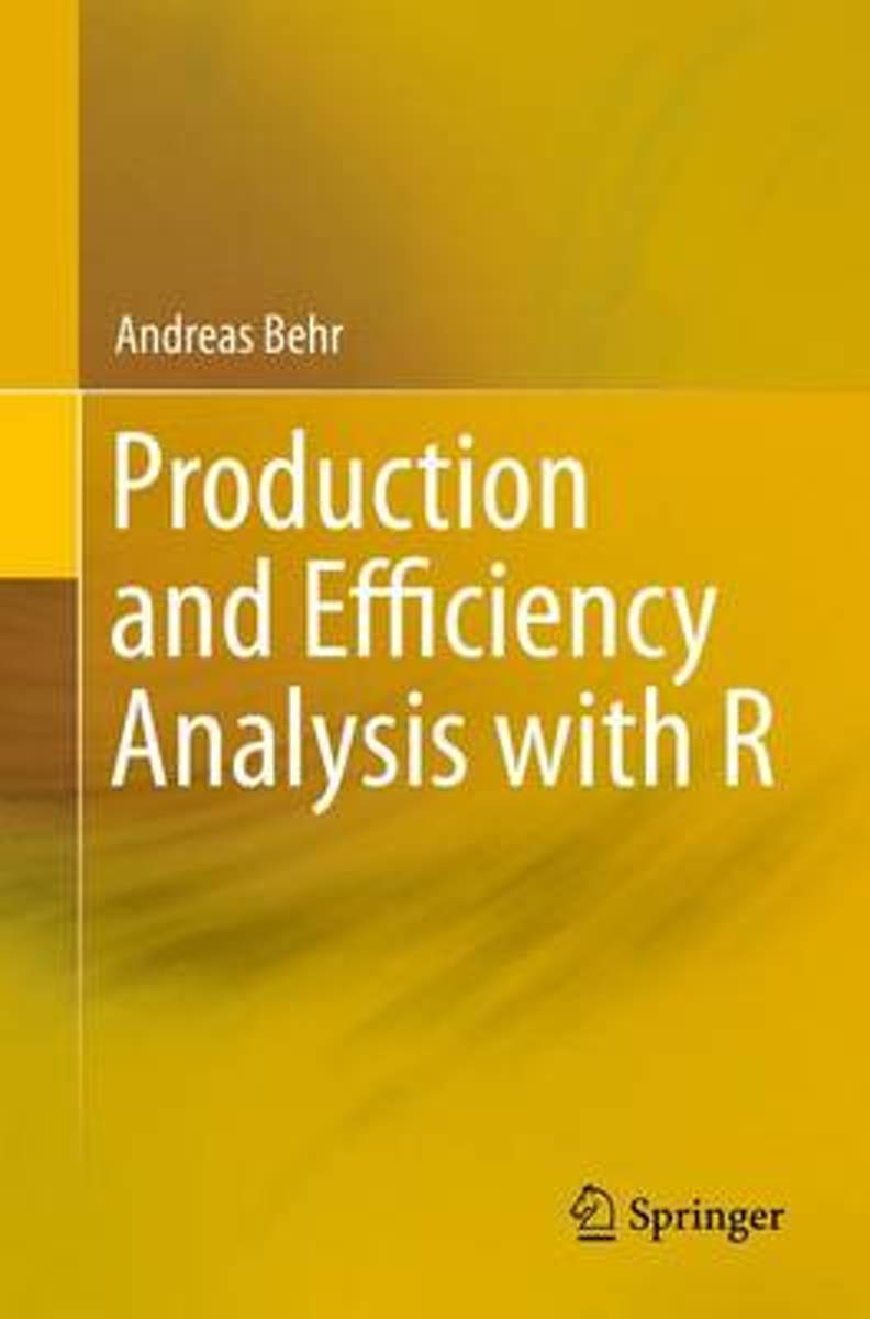 Production and Efficiency Analysis with R