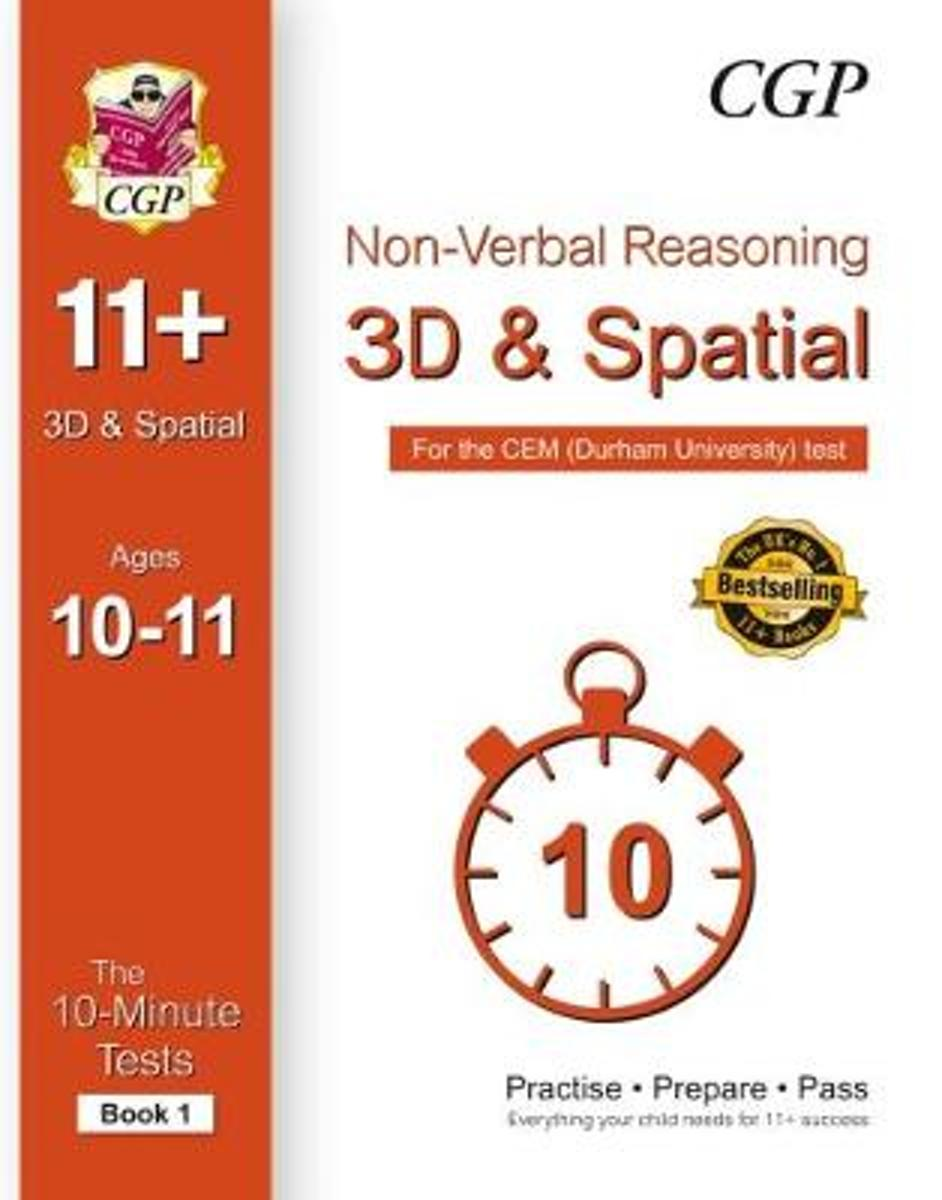 10-Minute Tests for 11+ Non-Verbal Reasoning