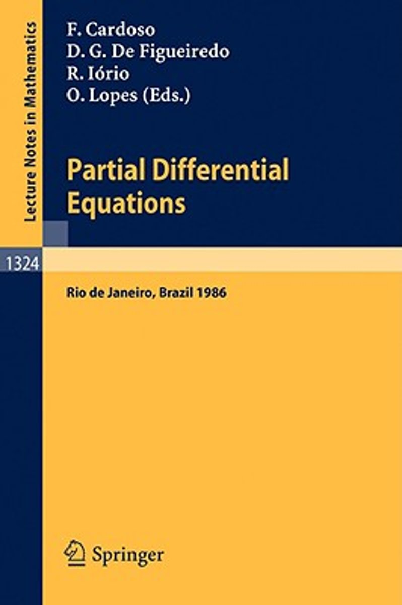 Partial Differential Operators