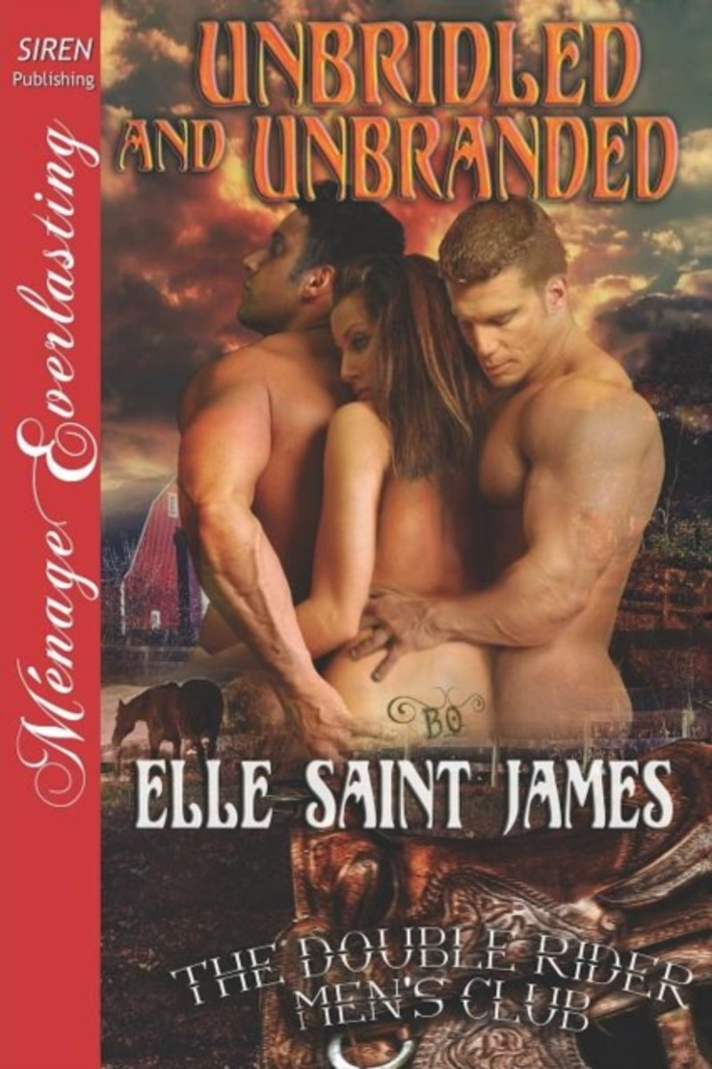 Unbridled and Unbranded [The Double Rider Men's Club 5] (Siren Publishing Menage Everlasting)