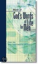More Of God's Words Of Life For Men