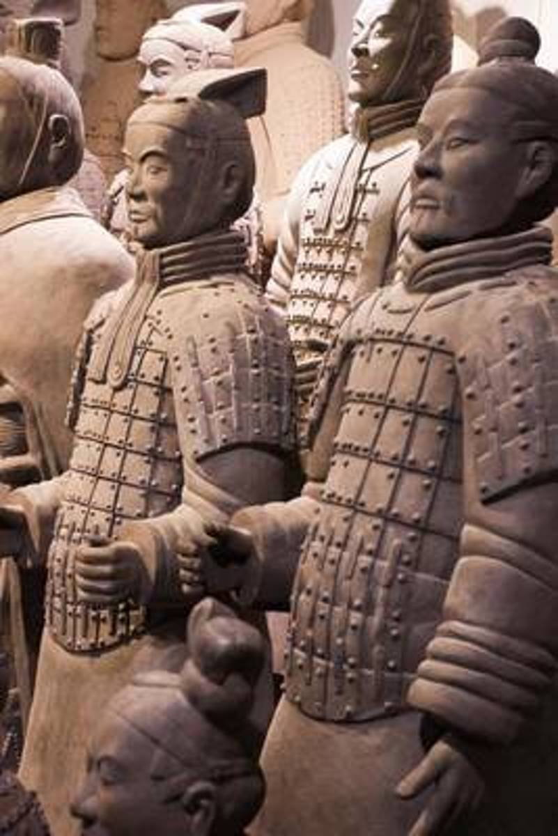 Terracotta Army Soldiers - Xian, China Journal