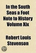 In The South Seas A Foot Note To History