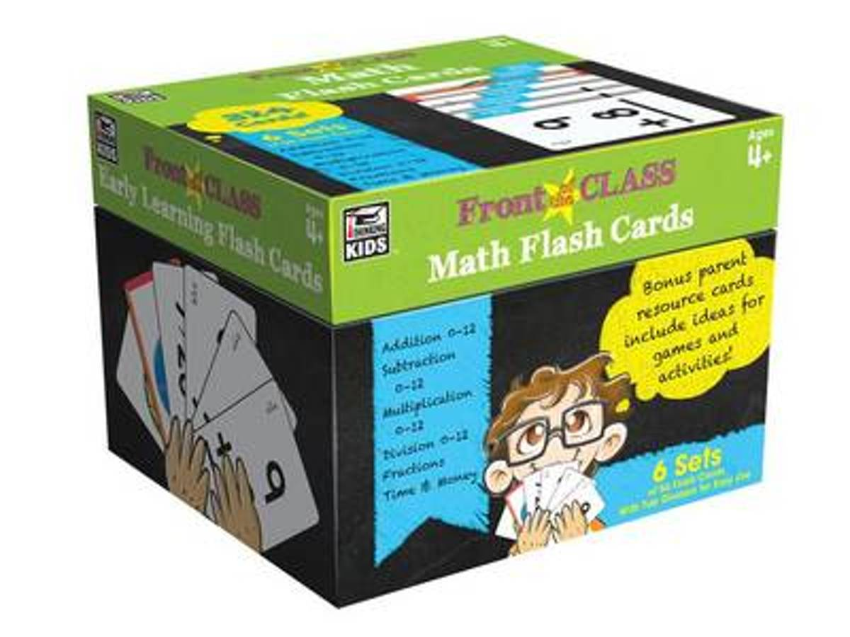 Math Flash Cards Ages 4+