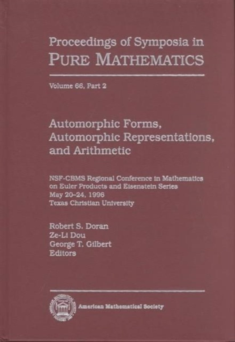 Automorphic Forms, Automorphic Representations and Arithmetic, Part 2
