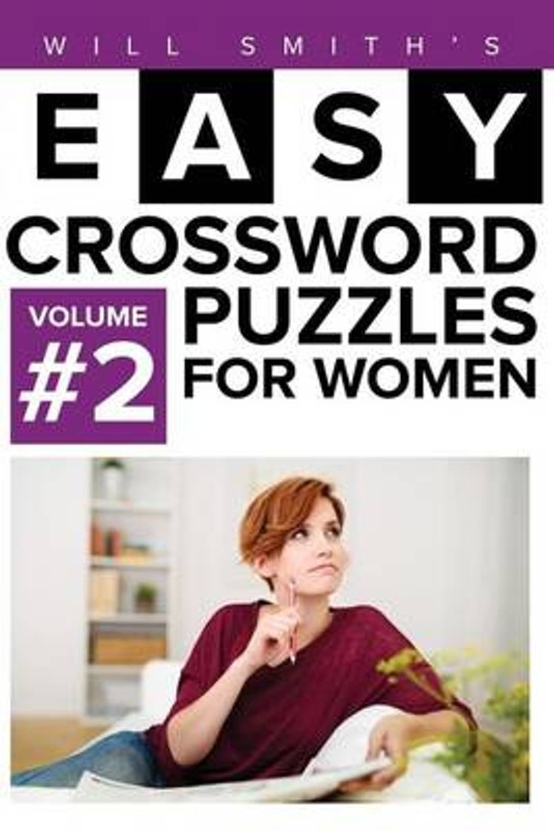 Will Smith Easy Crossword Puzzles for Women - Volume 2
