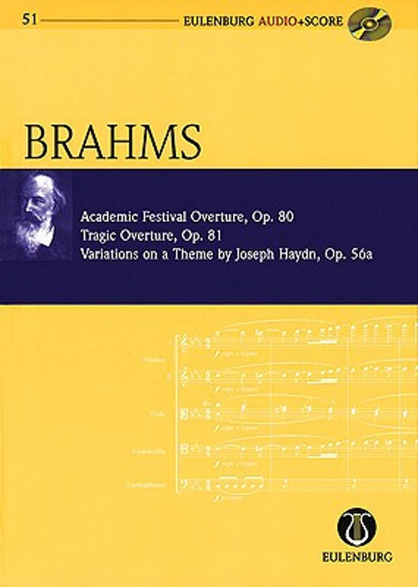 Academic Festival Overture, Op.80/Tragic Overture, Op.81/Variations on a Theme by Joseph Haydn, Op.56a