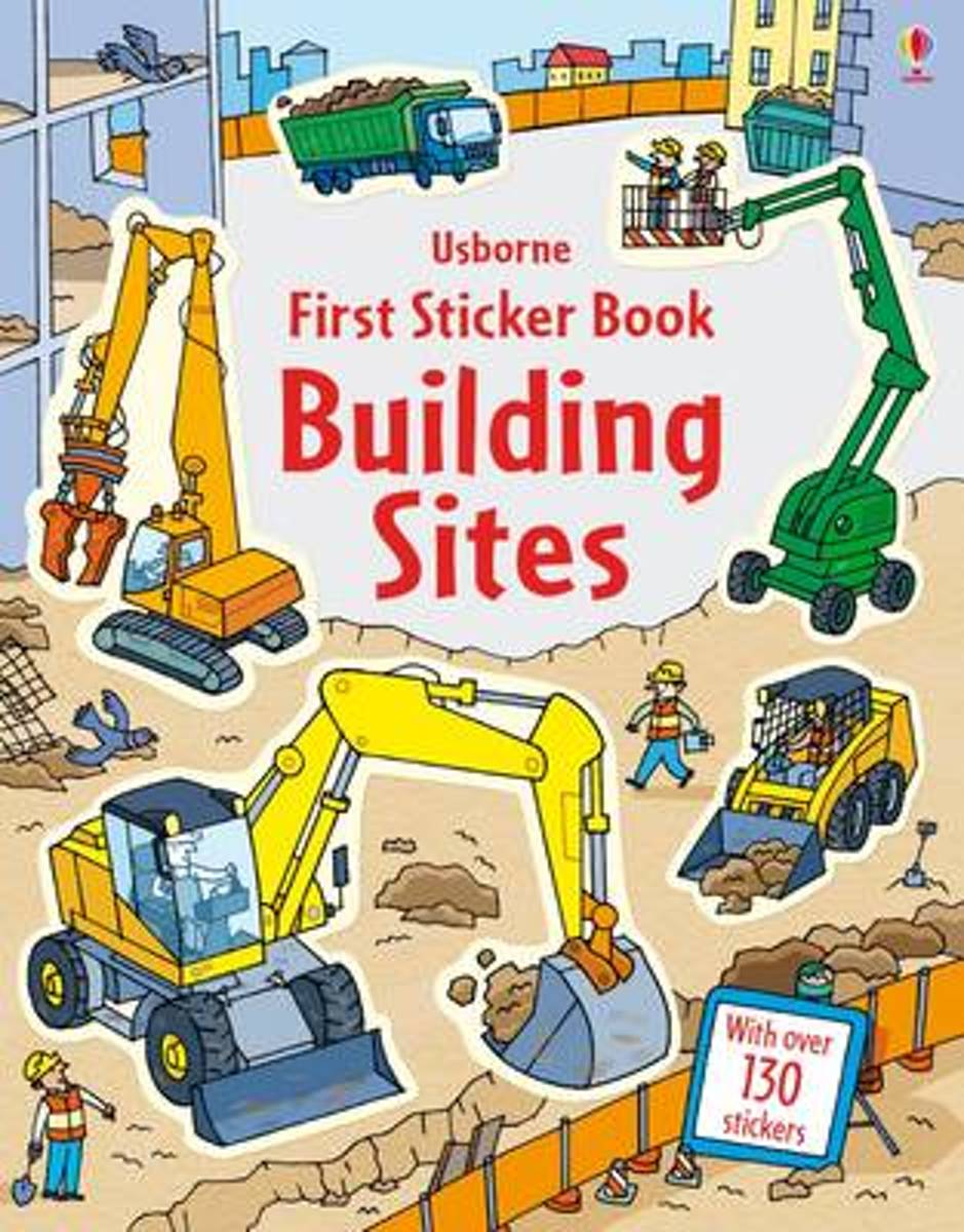 First Sticker Book Building Sites