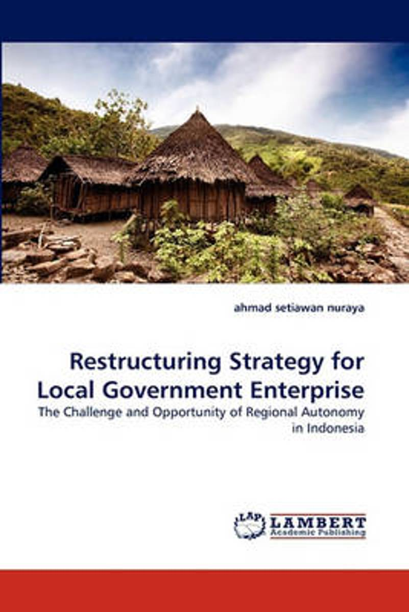 Restructuring Strategy for Local Government Enterprise