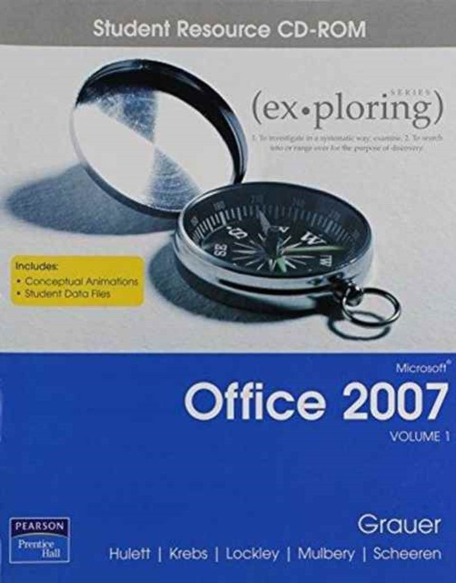 Exploring Microsoft Office 2007 Vol 1 Student CD