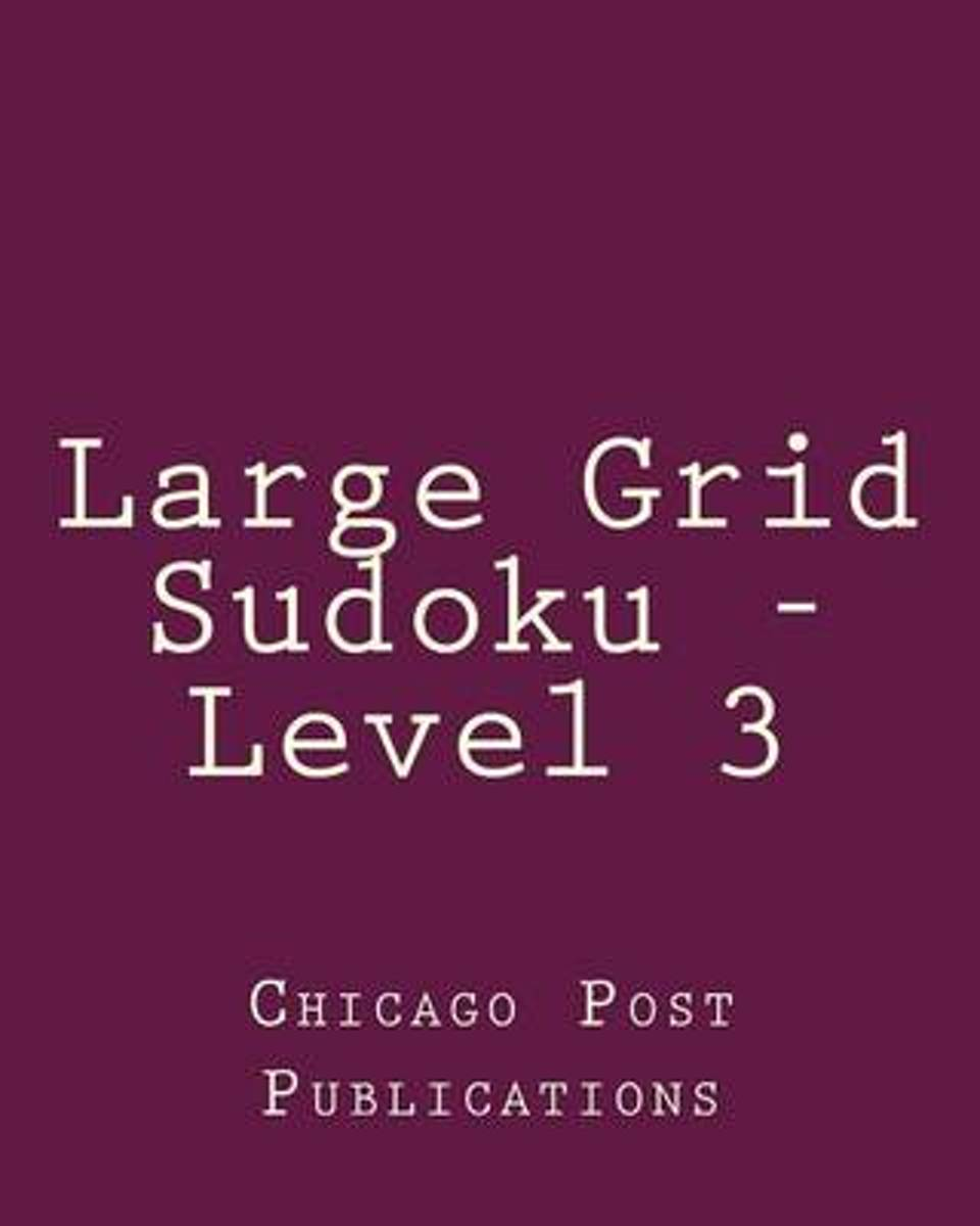 Large Grid Sudoku - Level 3