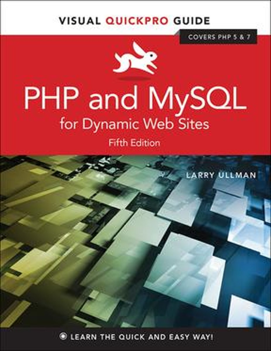 PHP and MySQL for Dynamic Web Sites