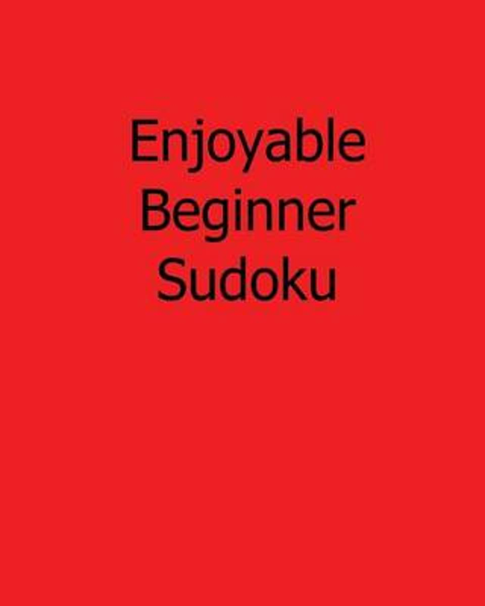 Enjoyable Beginner Sudoku