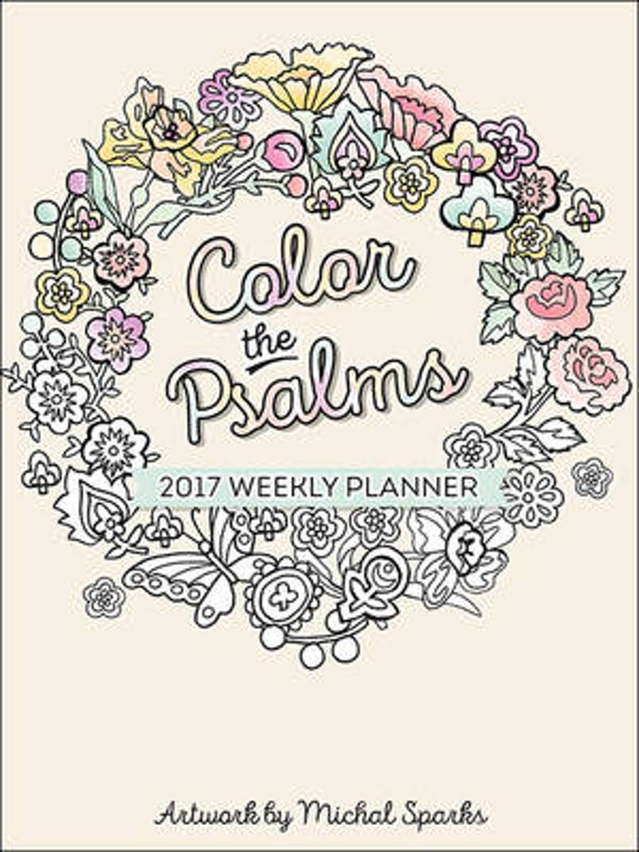 Color the psalms weekly planner