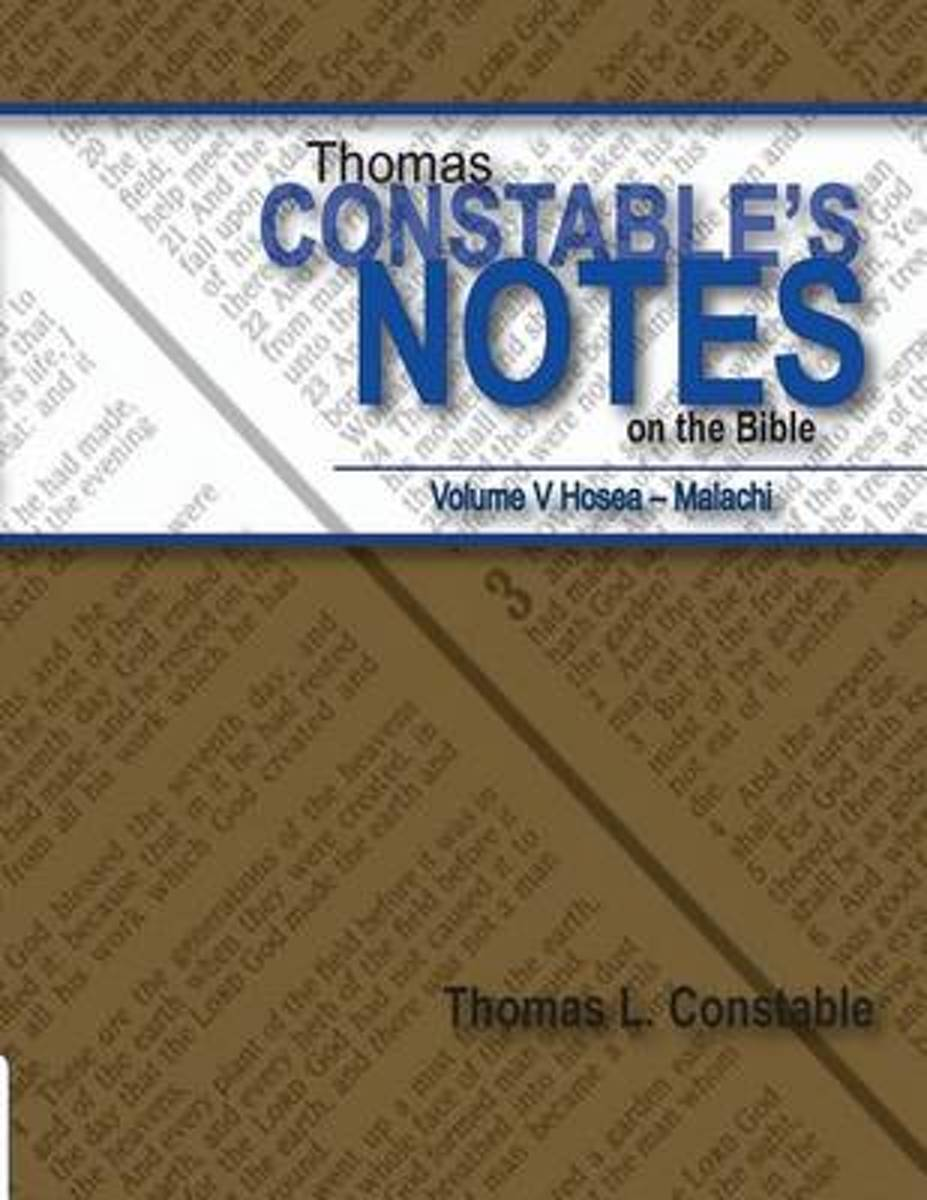 Thomas Constable Notes on the Bible