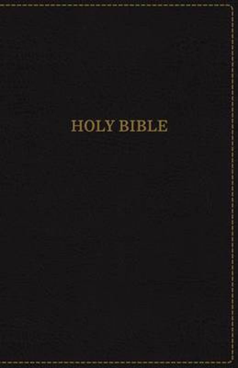 KJV, Thinline Bible, Compact, Leathersoft, Black, Red Letter Edition, Comfort Print