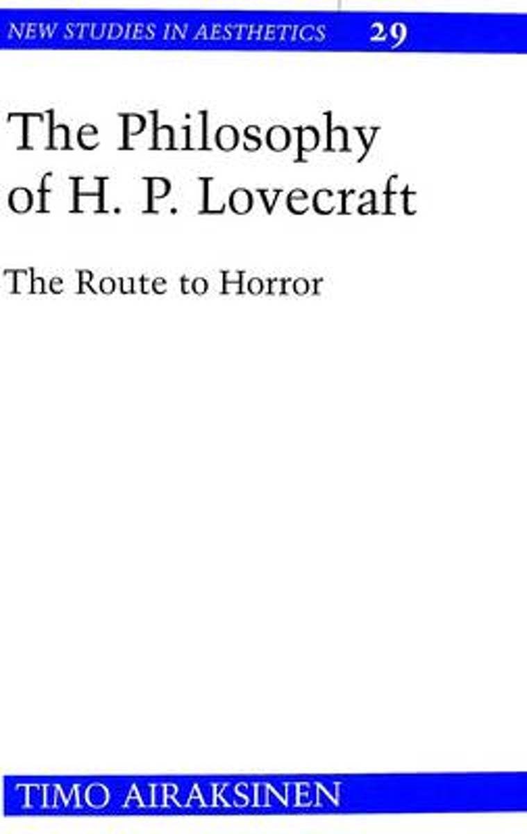 The Philosophy of H.P. Lovecraft