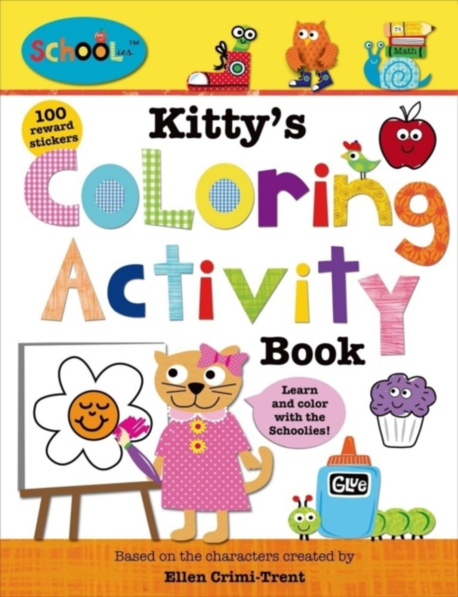 Kitty's Colouring Activity Book
