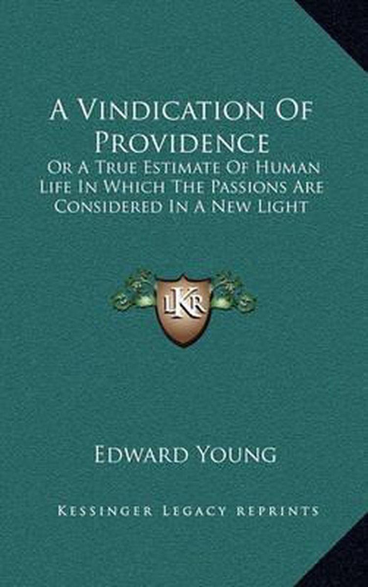 A Vindication of Providence