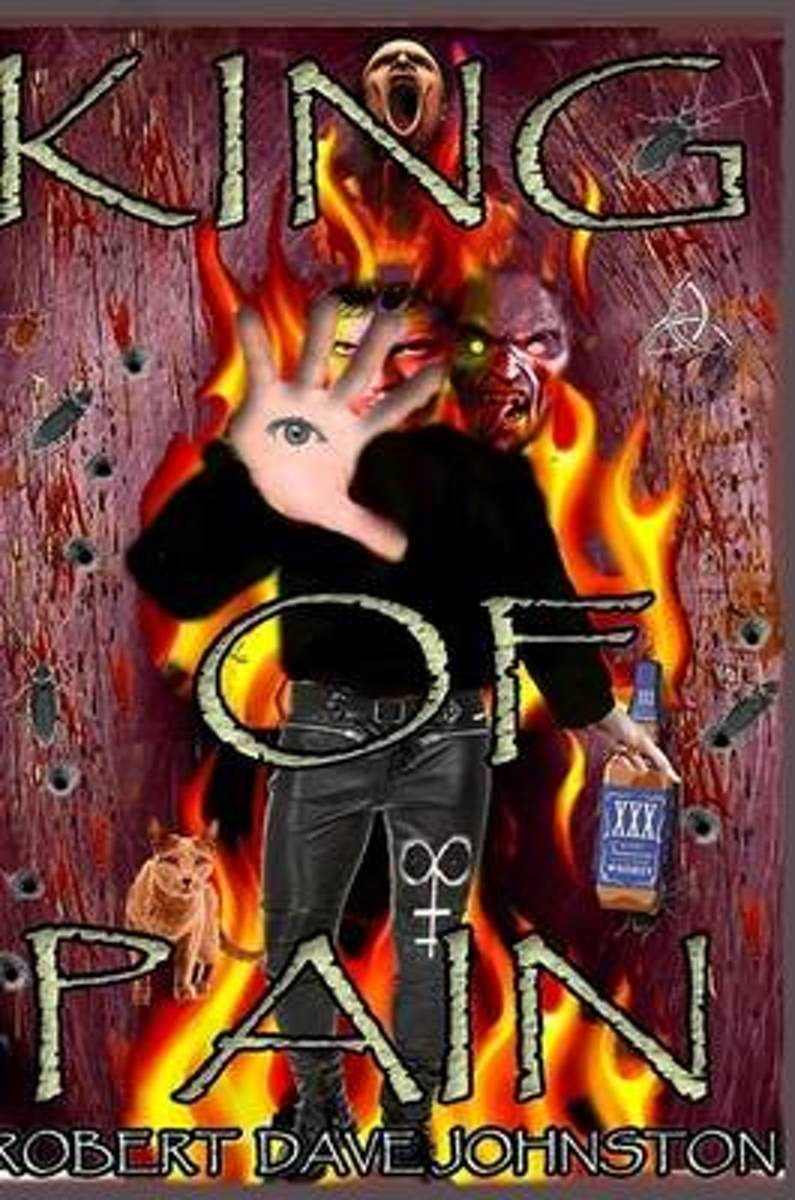 King of Pain (the Descent) A Journey to Hell & Back Through the Mind's Eye Book 1