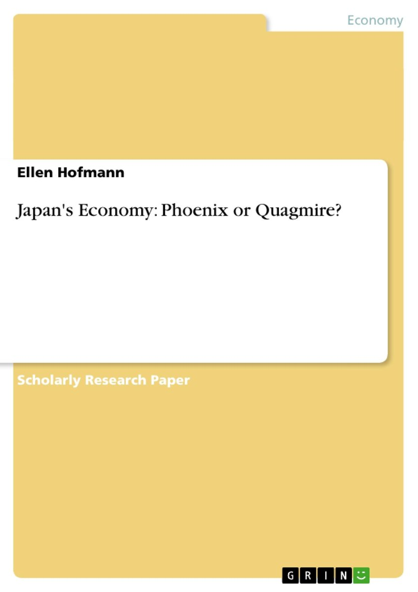 Japan's Economy: Phoenix or Quagmire?