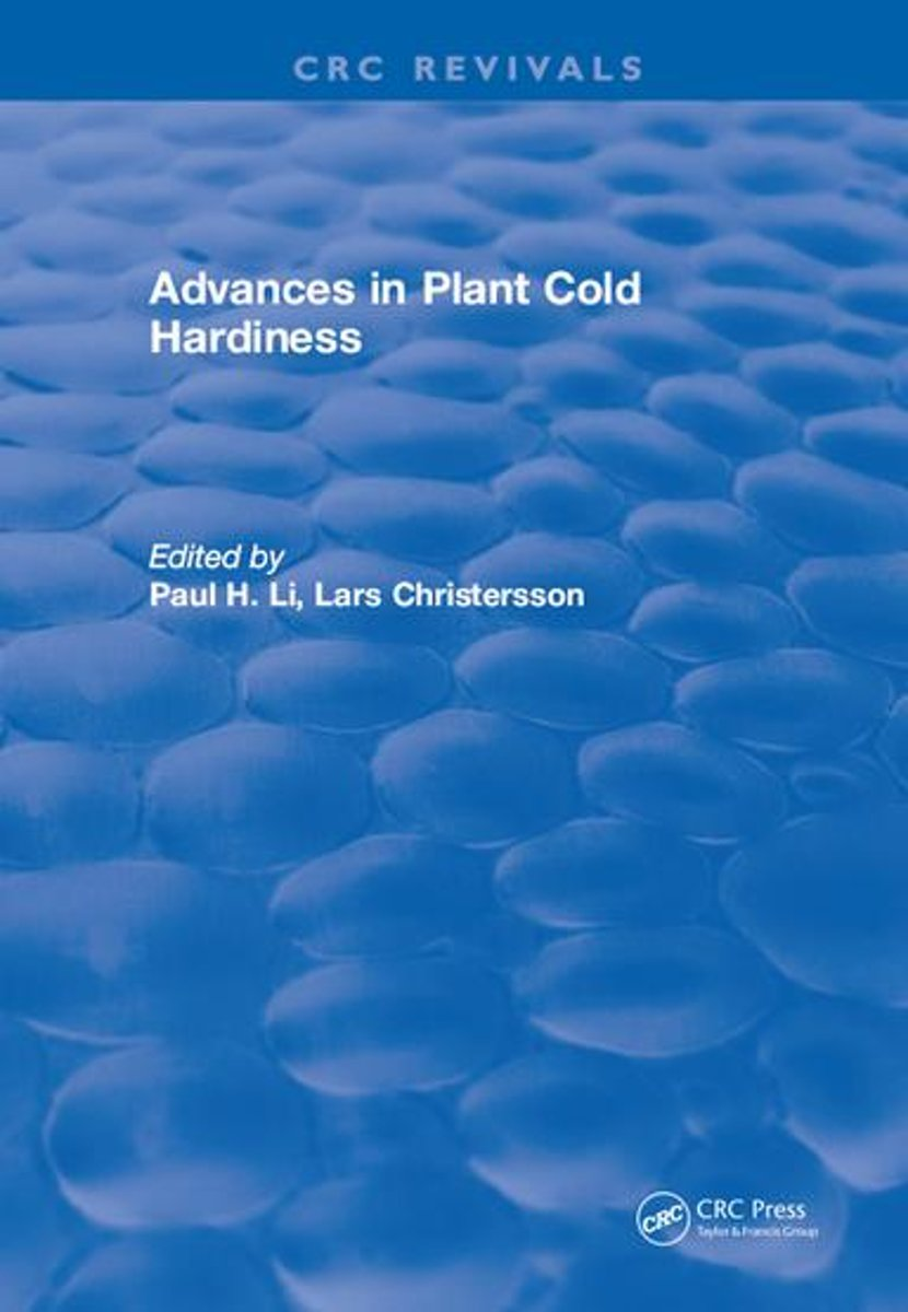 Advances in Plant Cold Hardiness