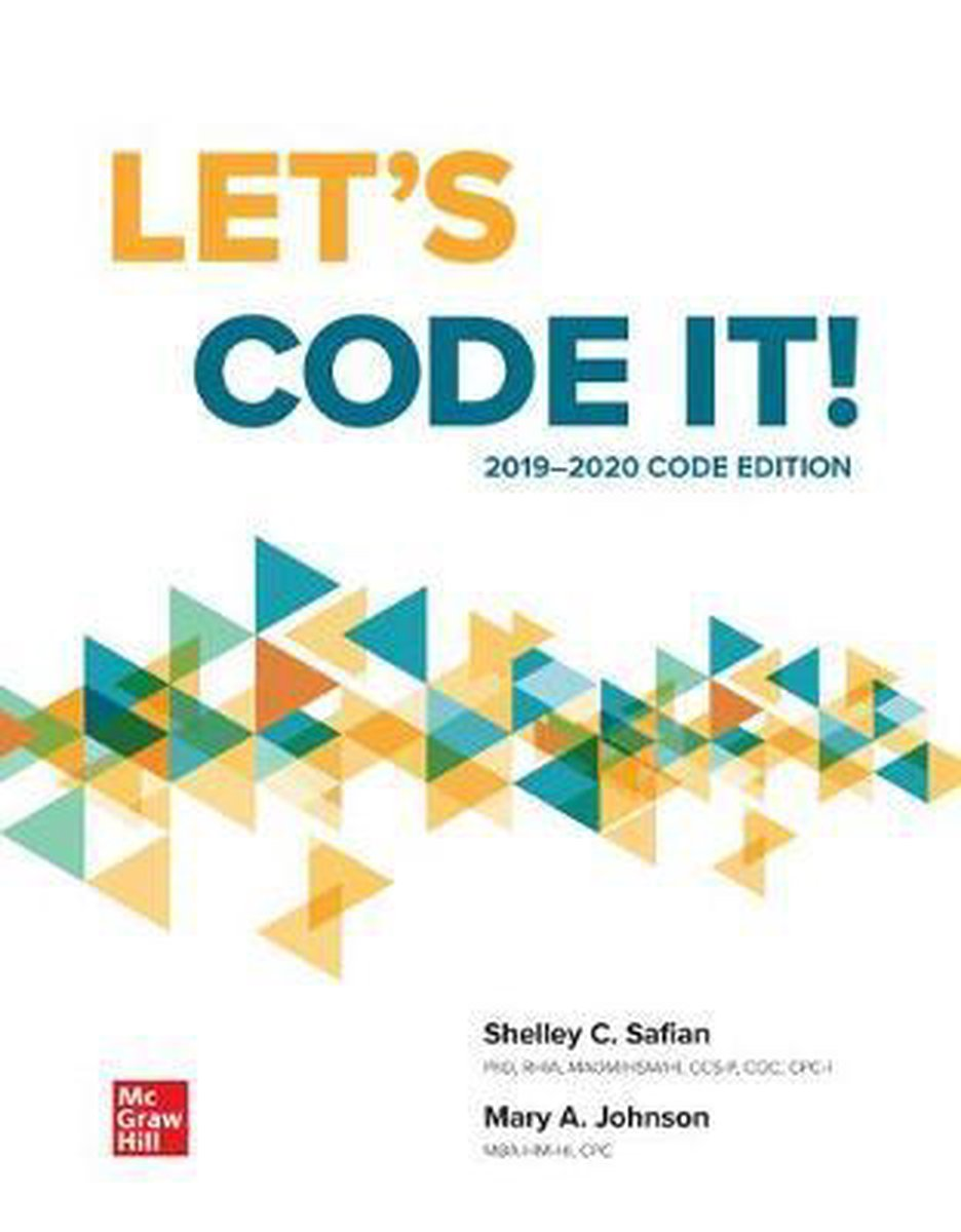 Loose Leaf for Let's Code It! 2019-2020 Code Edition