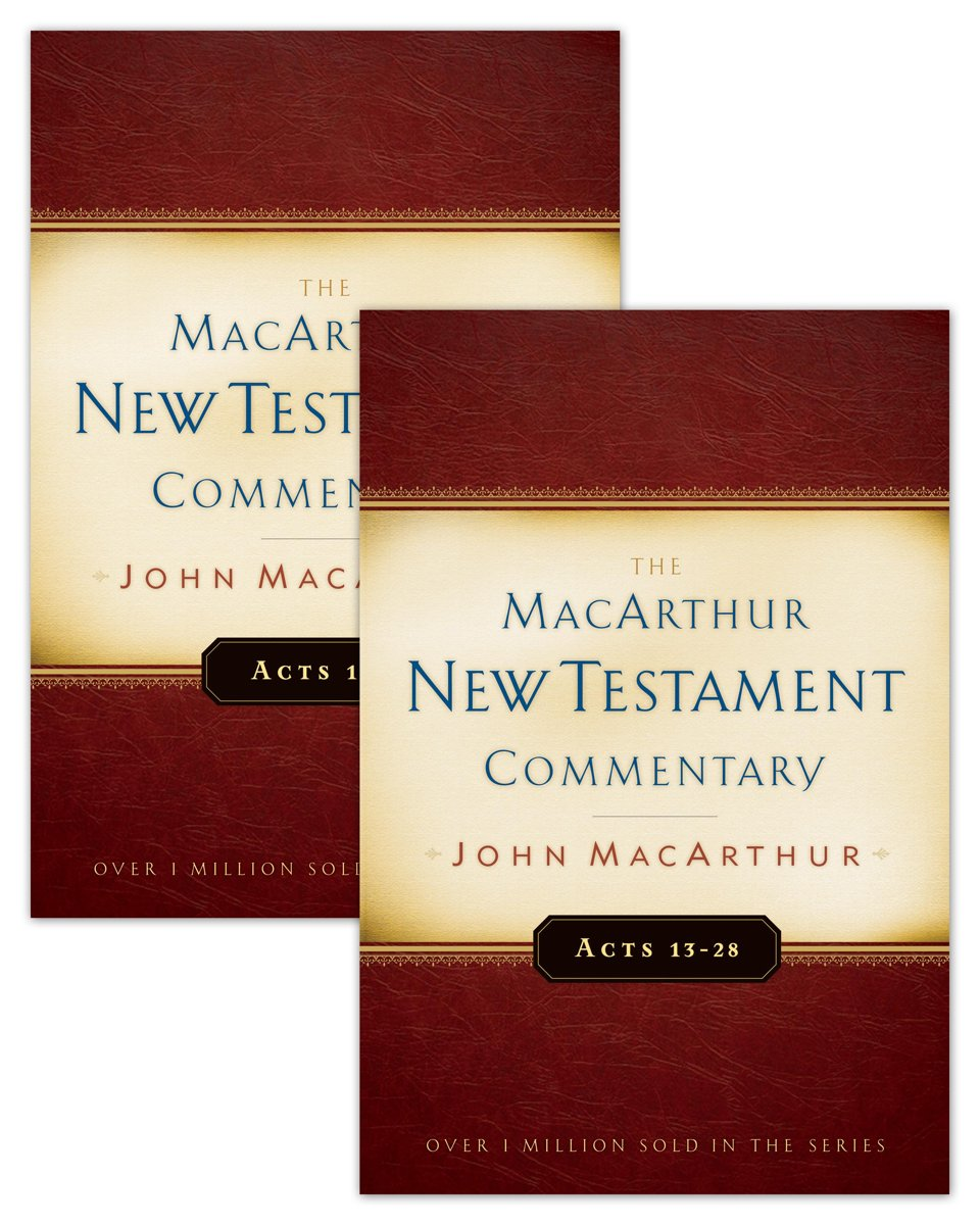 Acts 1-28 MacArthur New Testament Commentary Two Volume Set