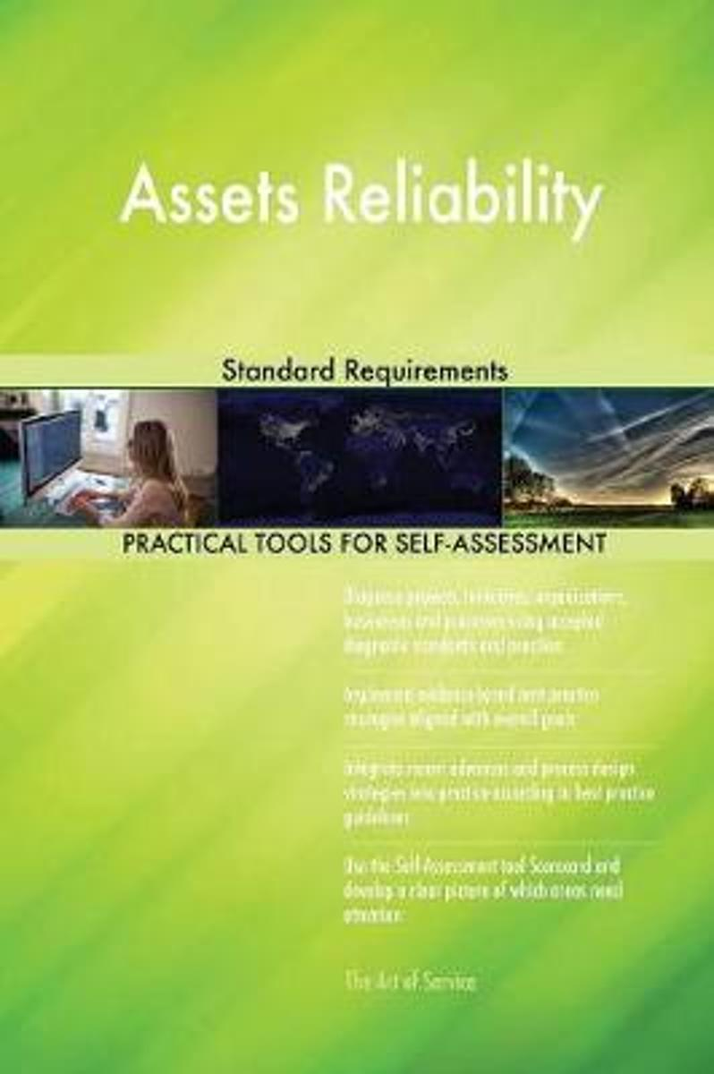 Assets Reliability Standard Requirements