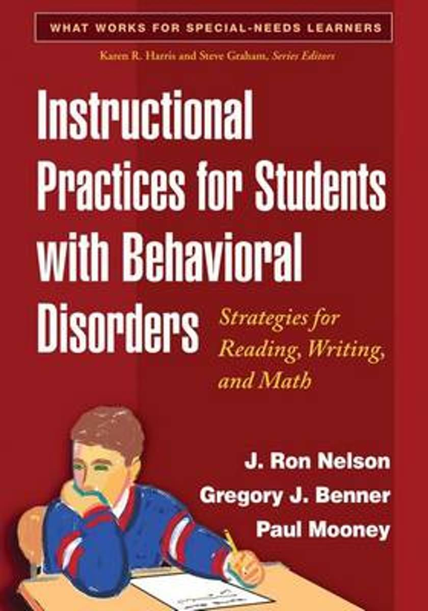 Instructional Practices for Students with Behavioral Disorders