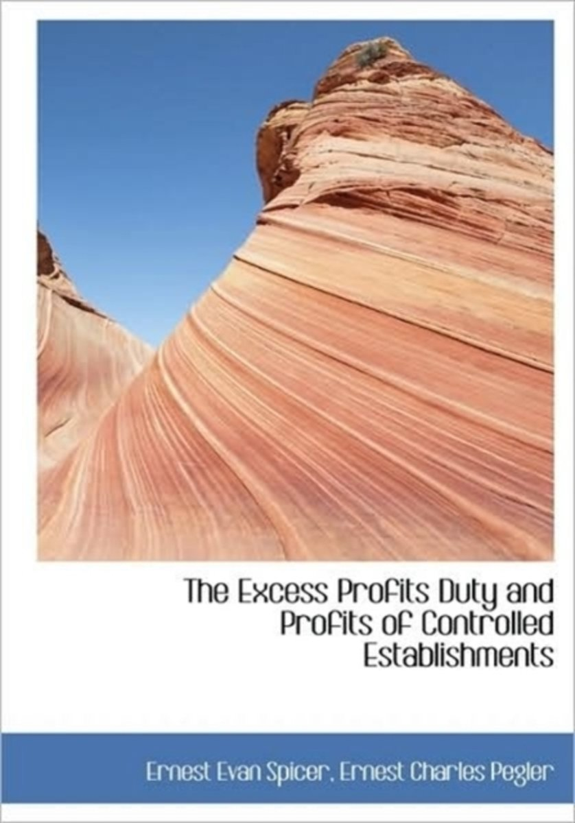 The Excess Profits Duty and Profits of Controlled Establishments