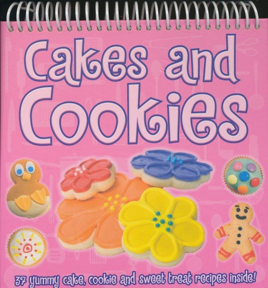 Cakes and cookies - 37 yummy cake, cookie and sweet treat recipes inside!