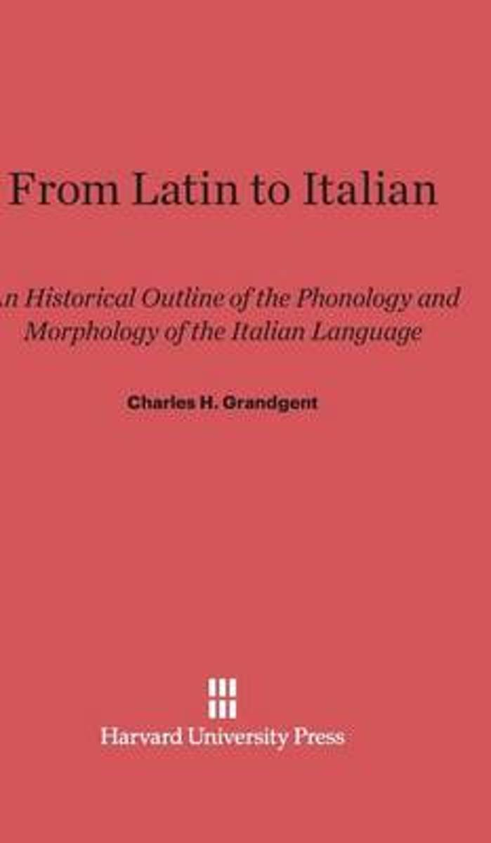 From Latin to Italian