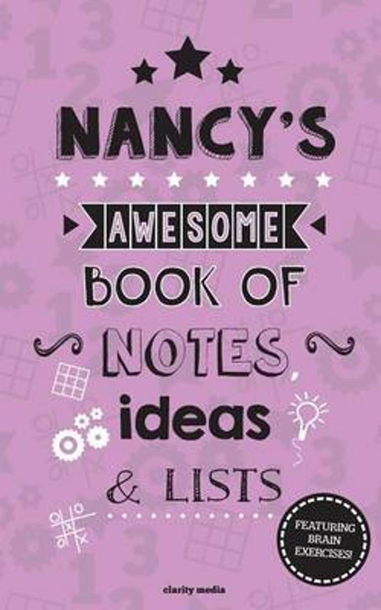 Nancy's Awesome Book of Notes, Lists & Ideas