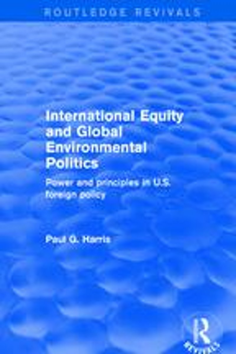 International Equity and Global Environmental Politics