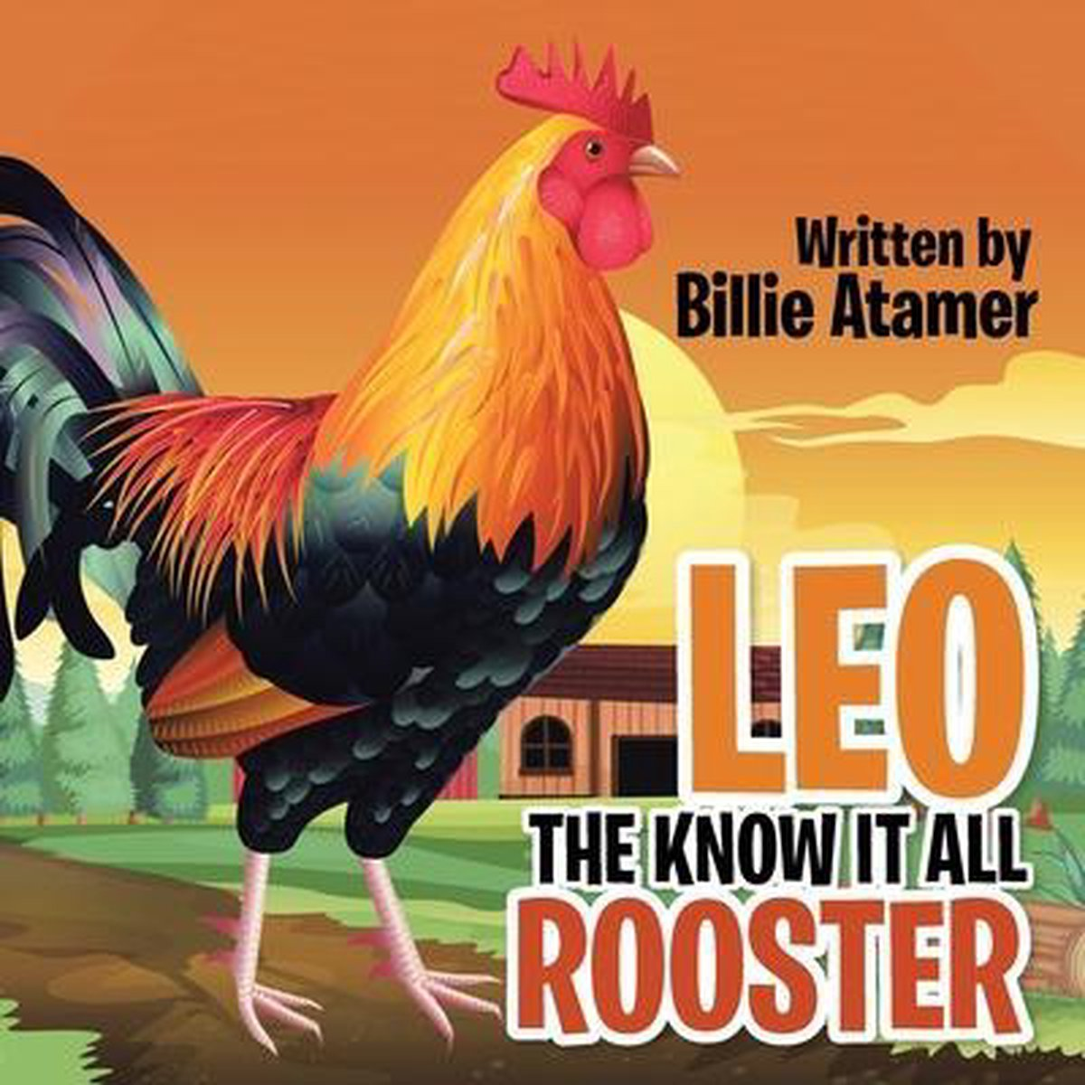 Leo the Know It All Rooster