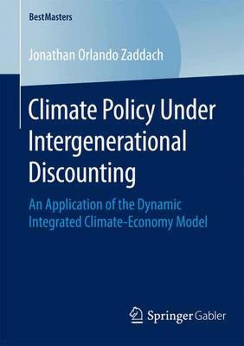 Climate Policy Under Intergenerational Discounting