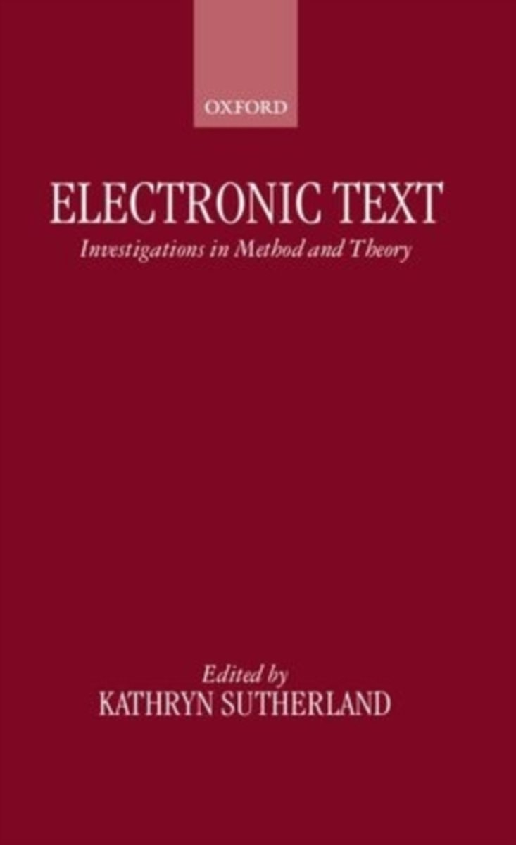 Electronic Text