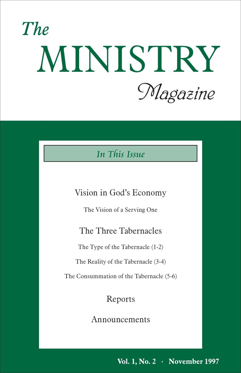 The Ministry of the Word, Vol. 1, No 2