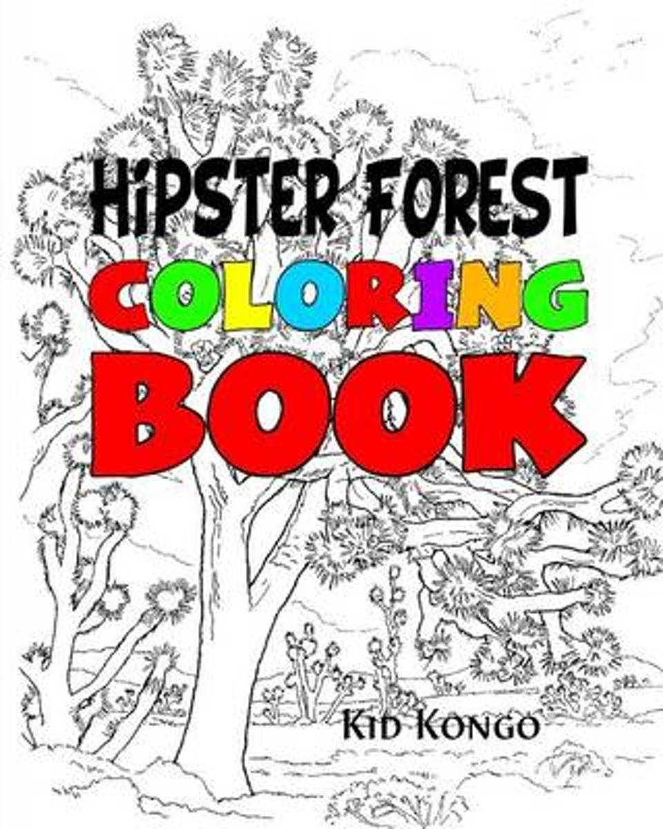 Hipster Forest Coloring Book