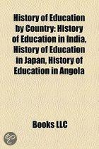 History of education by country