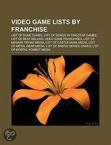 Video game lists by franchise