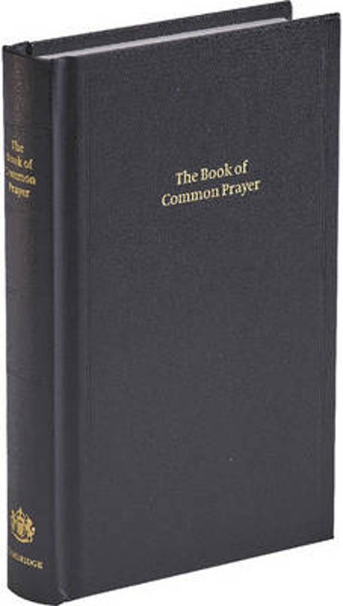 BCP Standard Edition Prayer Book Black Imitation Leather Hardback 601B