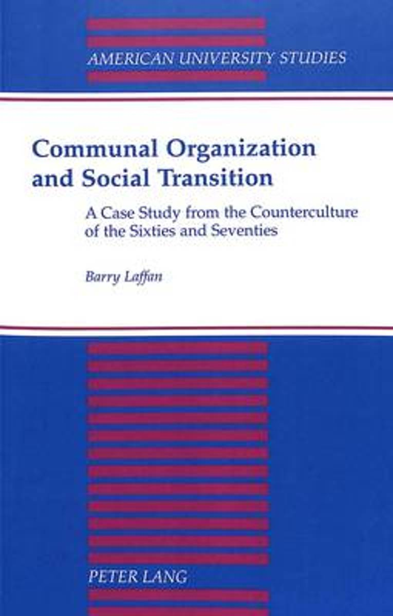 Communal Organization and Social Transition