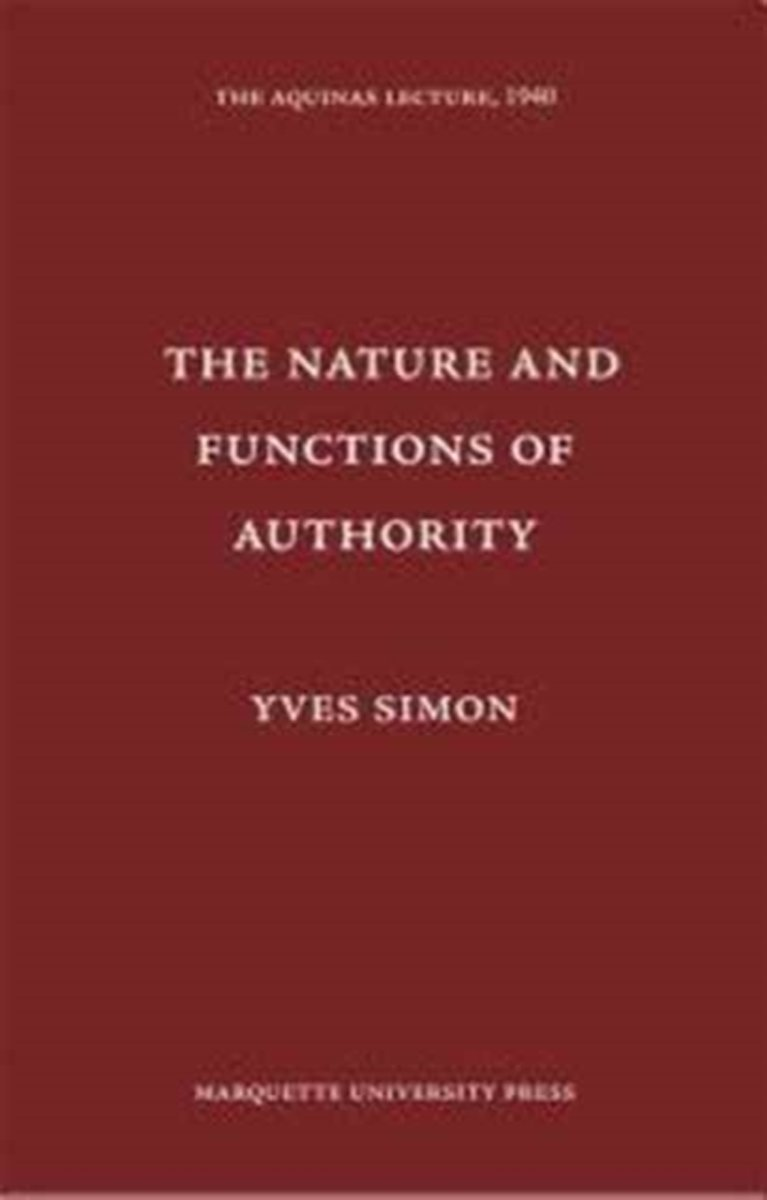 Nature & Functions of Authority